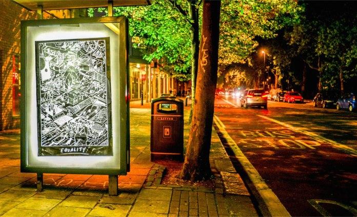 Brandalism - In London. By Ghost Patrol