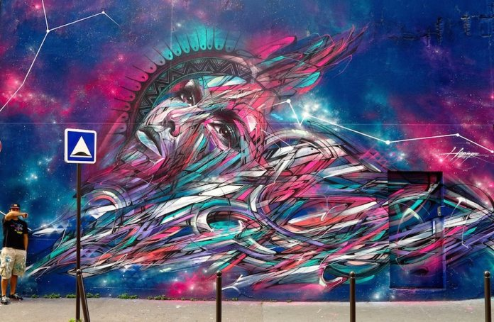 Street Art by Hopare – In Paris, France