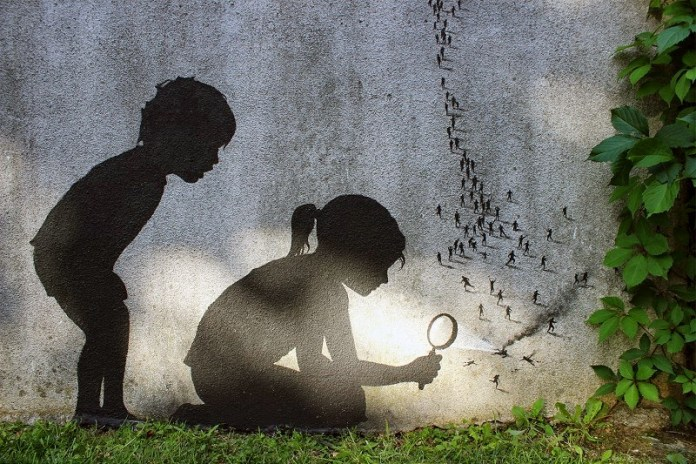 Street Art by Pejac – In Paris, France