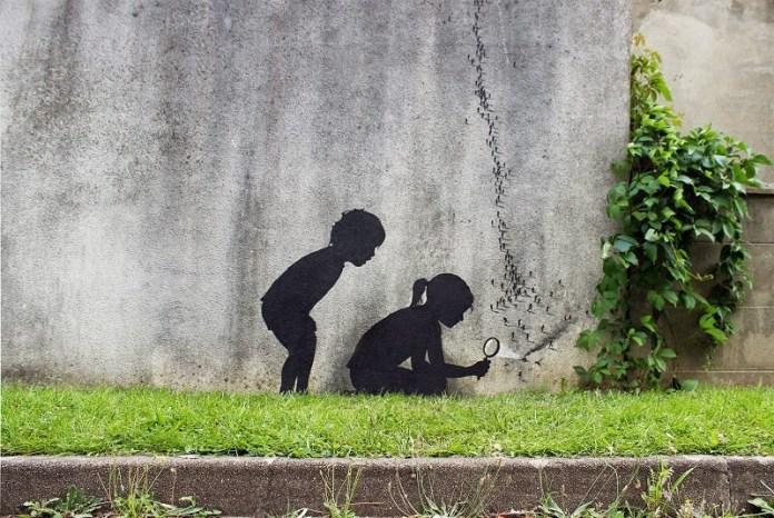 Street Art by Pejac in Paris, France 2