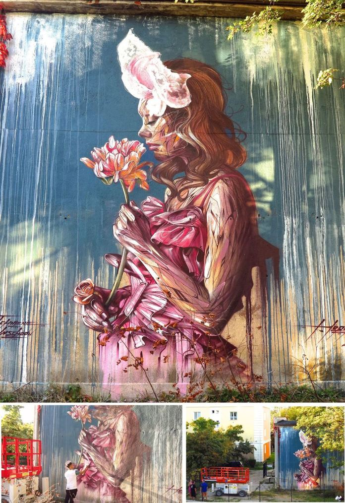 Street Art by Hopare in Gdynia, Poland