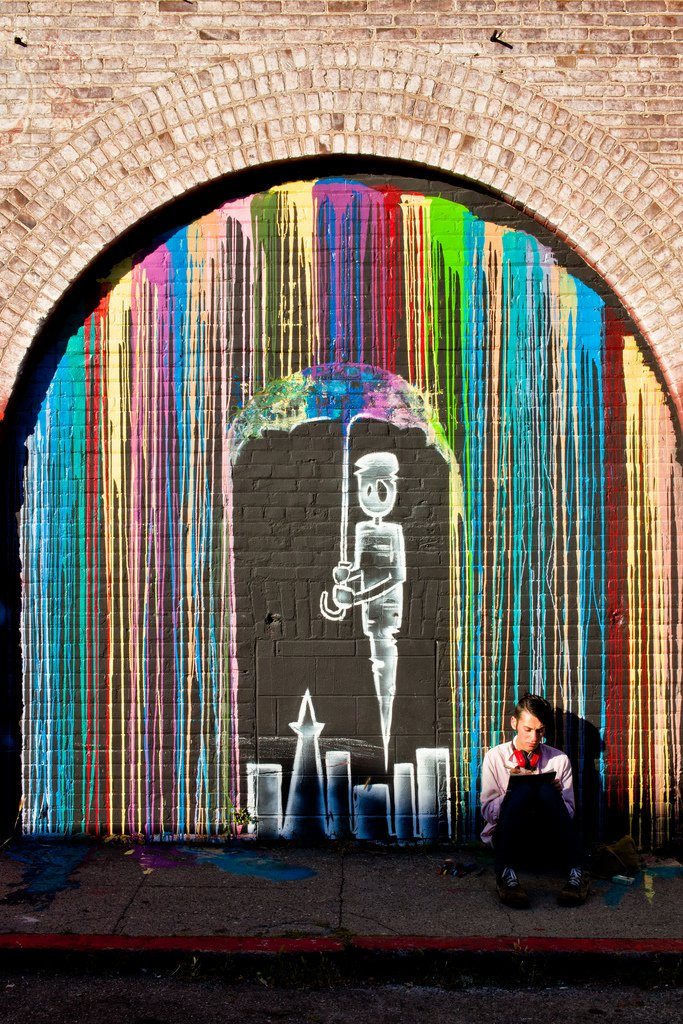 Colour Rain – By Chris Wiedmann in San Francisco