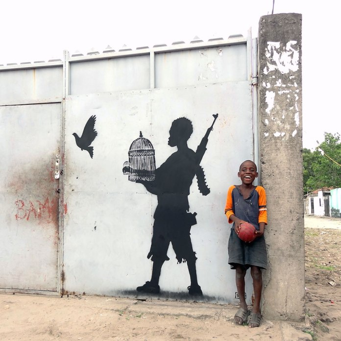 Street Art by Going in Kinshasa, Congo - Peace Unleashed
