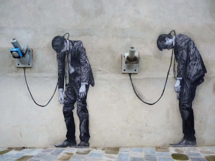 Street Art by Levalet in Paris, France 143546