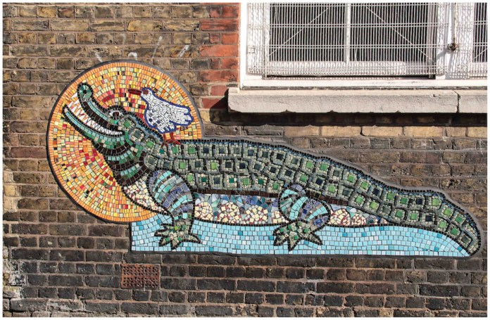 Mosaic by Artyface – In London, England