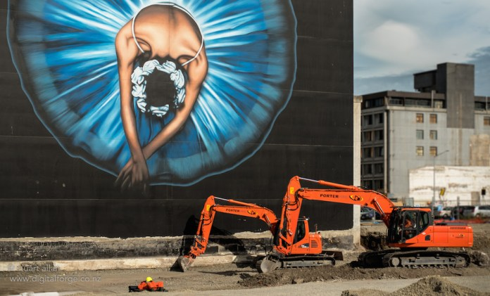 Ballerina by Owen dippie – In Christchurch, Canterbury, New Zealand