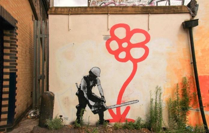 Street Art by Trust Icon – In London, UK