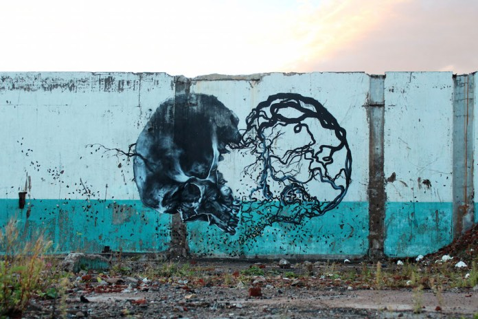 Street Art by Vegan Flava in Stockholm, Sweden 1