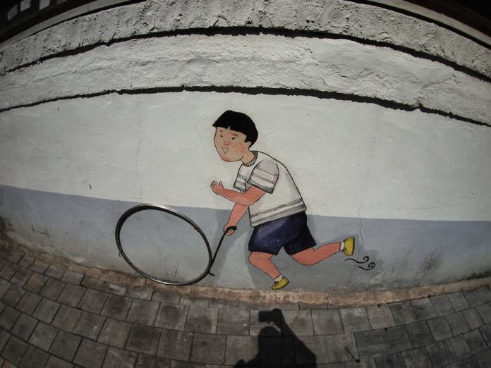 Street Art from Seoul Area, South Korea. Photo by Mark Johnson 40