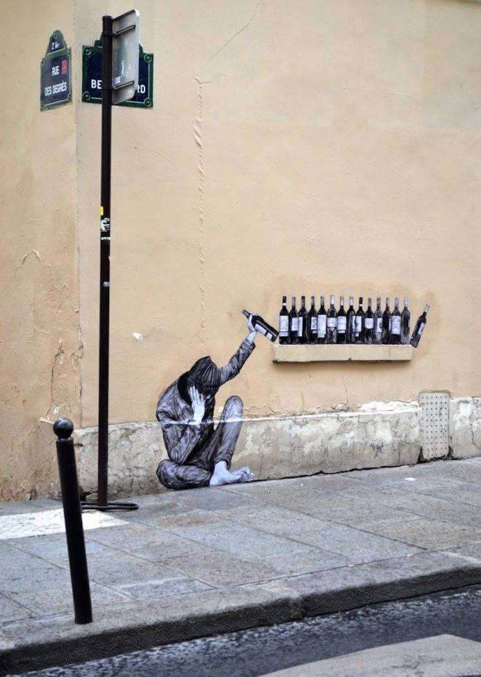 One too many - By Levalet in Paris, France 4