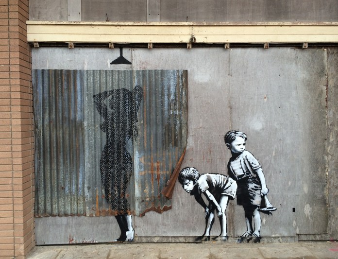 Street Art by Banksy and other artists in London, England - Dismaland 6
