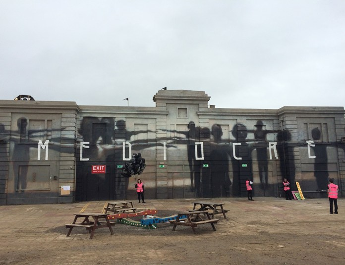 Street Art by Banksy and other artists in London, England - Dismaland 9