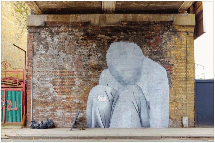 Street Art in North London, England