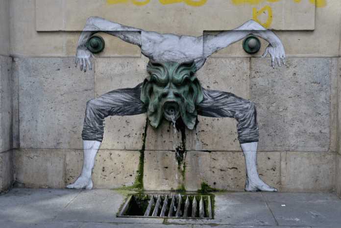 Street Art by Levalet in Paris, France 1 5674