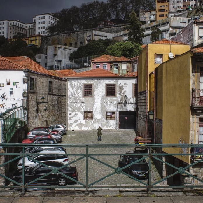 Street Art by Vhils in Porto, Portugal 2