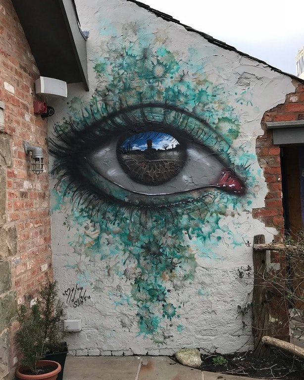 Street Art by My Dog Sighs – In Eccleston, England