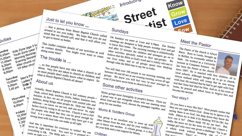 Information Leaflets