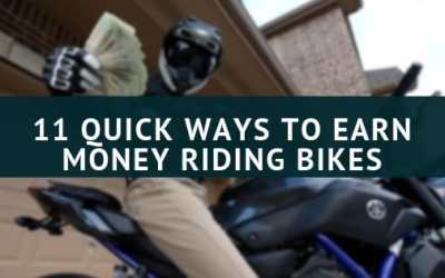 11 Quick ways to Earn Riding Motorcycles