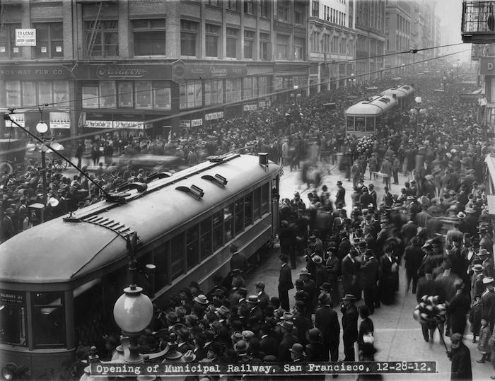 Muni, Opening Day, 12/28/1912