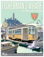 Fisthermans Wharf Poster