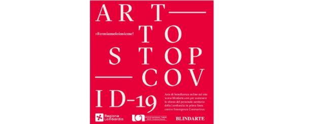 ART TO STOP COVID-19. L'asta benefica online per combattere il Coronavirus