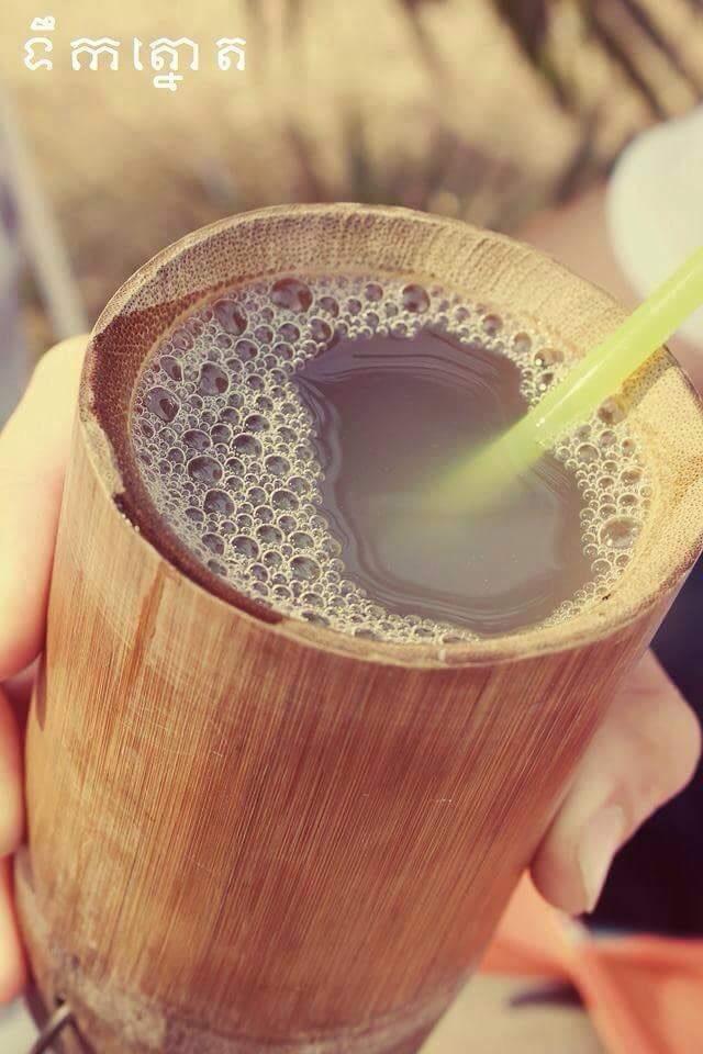 Sweet Cambodian palm sugar juice