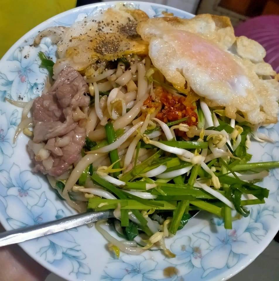 Cambodian Fried noodles