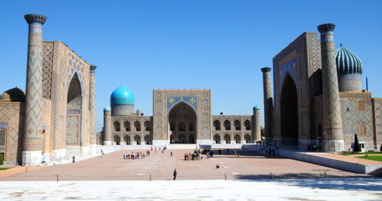Samarkand. Perla Hodvábnej cesty