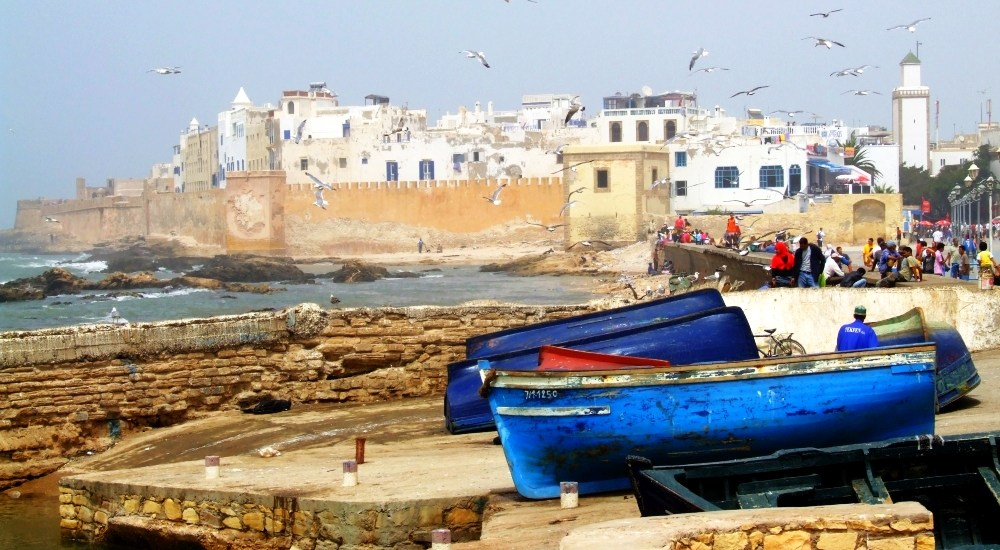 Essaouira s vôňou mora a rýb