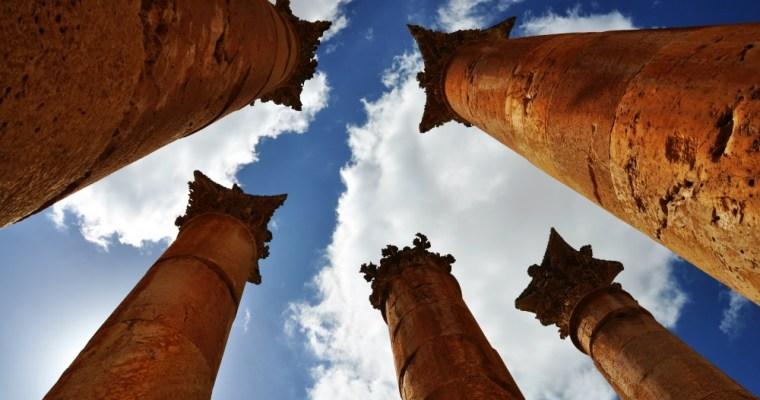 Jerash. Pompeje na severe Jordánska