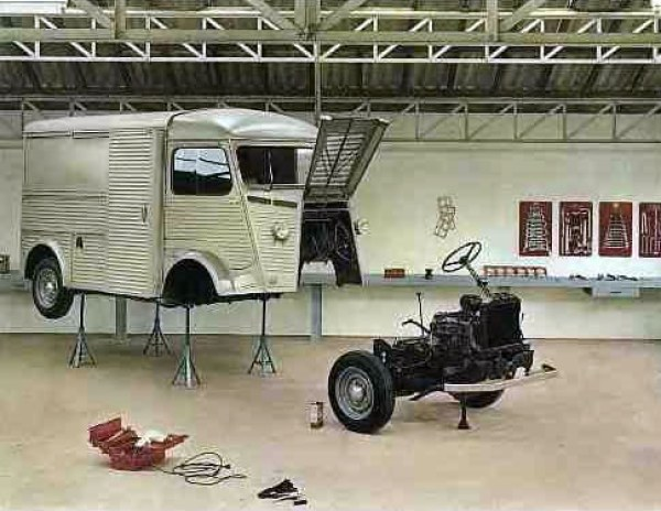 Citroen Hy engine out