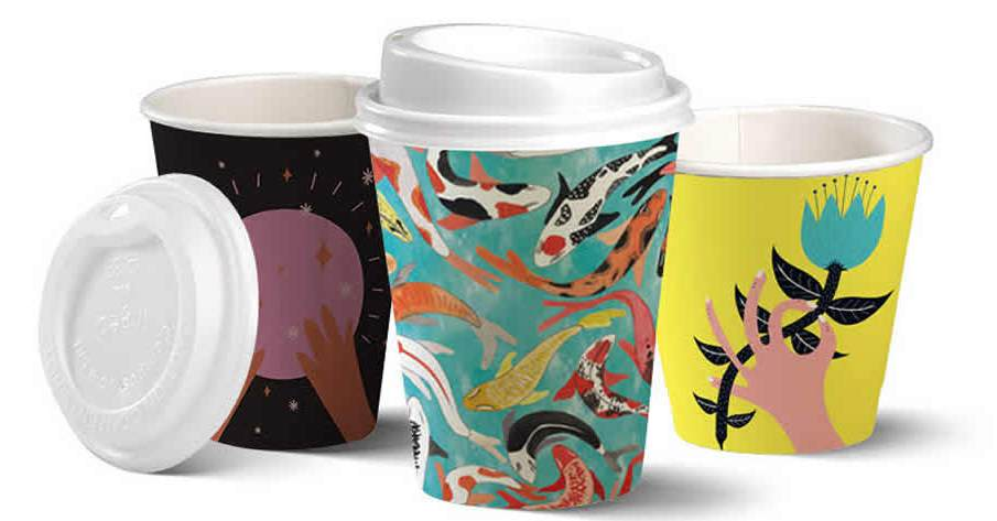 Biopac UK release Art Series Compostable Coffee Cup Range to the UK