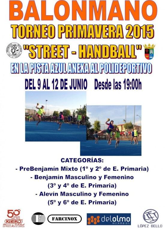 2015 Balonmano Calle Street Handball Torneo Primavera 2015 with Deportivo Retamar CB.jpg1