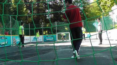 Streethandballtour 2015 » 05.06.2015 Anne-Frank Schule Mettmann