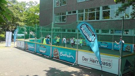 Streethandballtour 2015 12.06.2015 Elsa-Brandstroem-Schule Ratingen