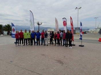369 2018 Greece, 1st Street Handball Tournament Nafplio City Drone Video 9
