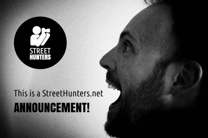 A StreetHunters.net announcement