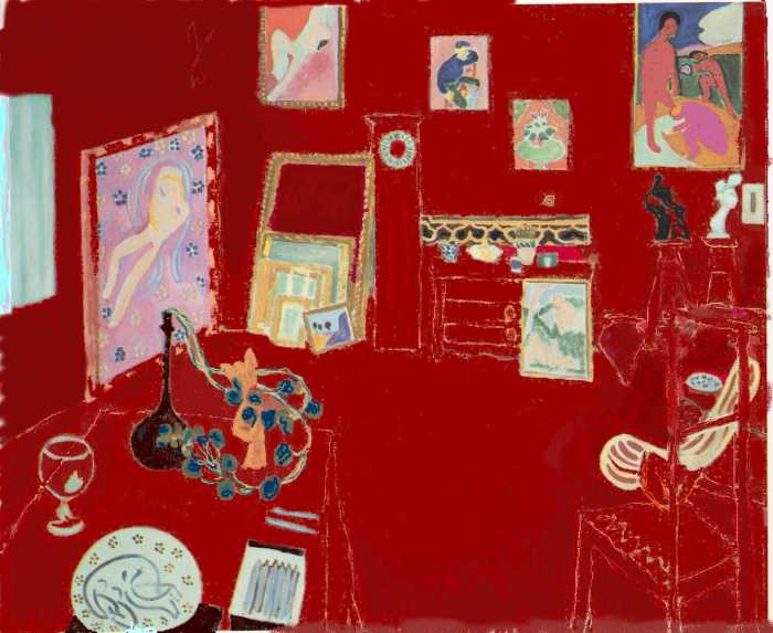 The Red Studio Henri Matisse
