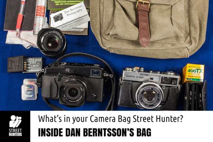 Dan Berntsson Camera Bag