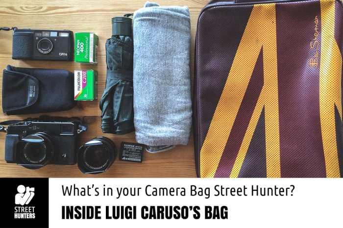 Luigi Caruso's Camera Bag Promo