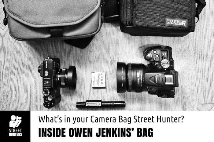 Owen Jenkins Camera Bag promo