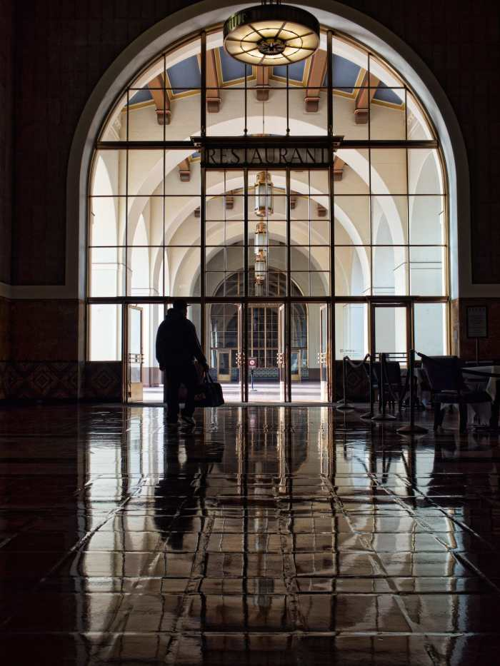 """""""Arches at Union Station"""" by Stuart Liddle.  Shot in Los Angeles, CA, USA, October 2014"""