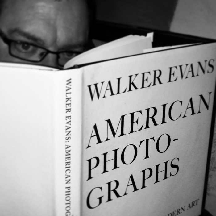 Andrew Sweigart reading Walker Evans