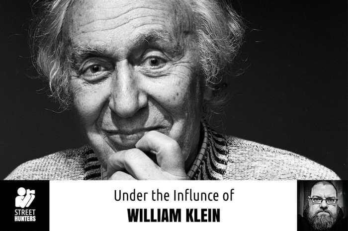 Under the influence of William Klein