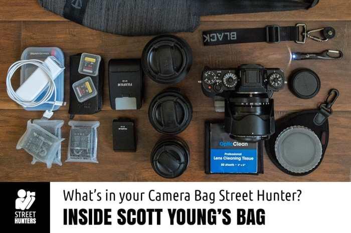 Scott Young's Camera Bag promo