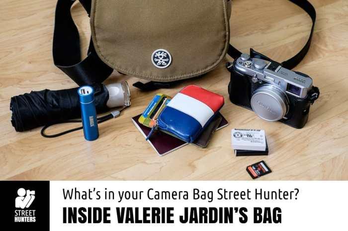 Valerie Jardin's Camera Bag
