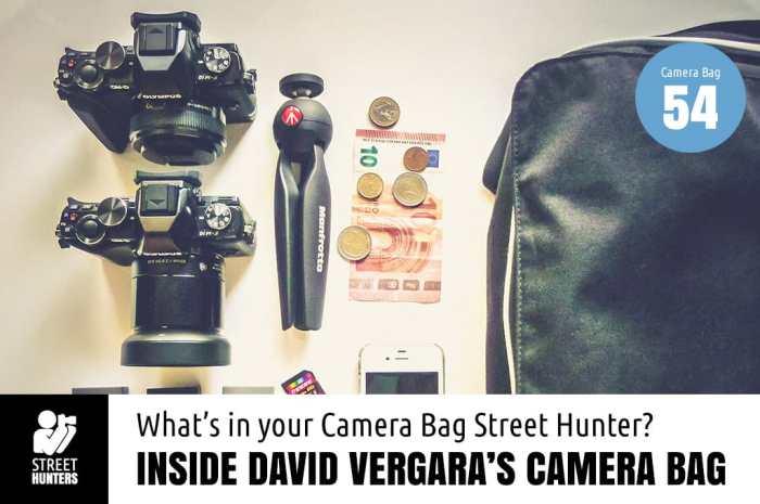 Inside David Vergara's Camera Bag