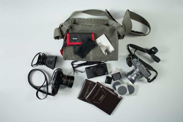 Doug Keech's Camera Bag