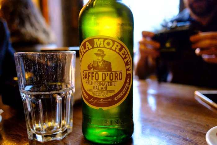 Moretti Beer