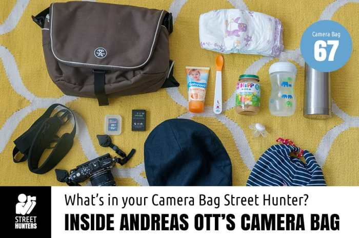 Inside Andreas Ott's camera bag